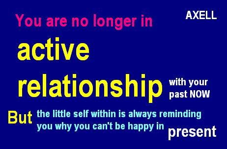 Relationship with past