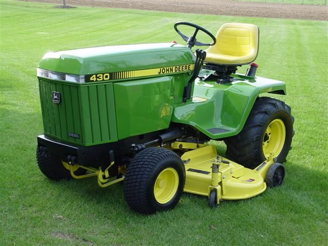 Old John Deere 430 For 3 Acres The Lawn Forum