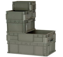 Straight Wall Containers (RSO Series)
