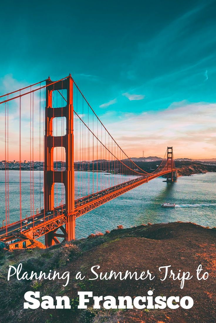 How to plan a summer trip to San Francisco, California: Top things to do in San Francisco, places to eat, and where to stay in the City by the Bay. Pin this post for San Francisco travel tips: http://www.everintransit.com/summer-san-francisco/ @kayak #travelhacker #ad