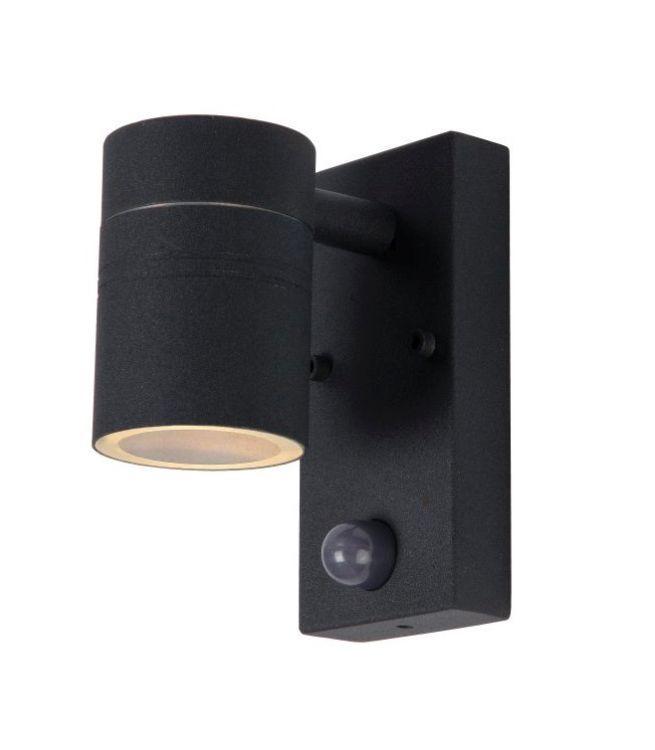 Buitenlamp Met Sensor Zwart.Zwarte Buitenlamp Acco Met Bewegingssensor In 2019 Buitenlampen