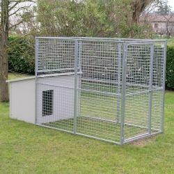 Dog Kennel mod. Eco + Dog House mod. Dobermann