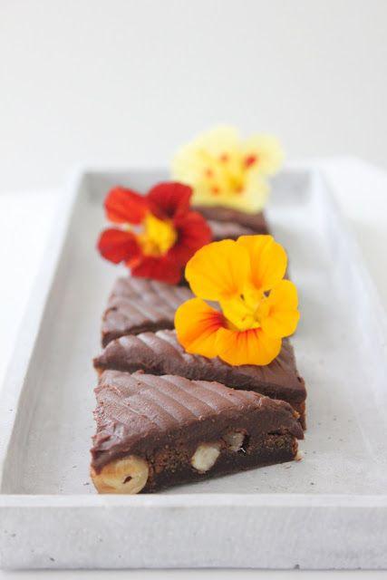 CookieCrumble: Chokoladesnitter m. hasselnød