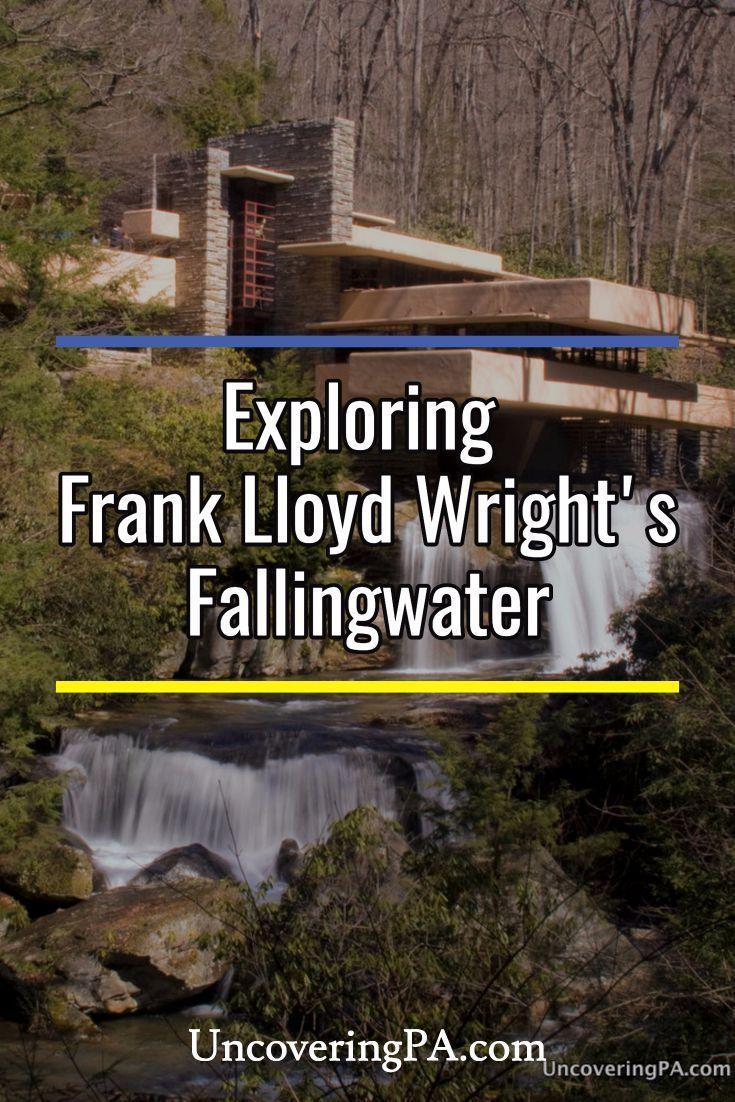 Visiting Frank Lloyd Wright's Fallingwater in Pennsylvania's Laurel Highlands. via @UncoveringPA