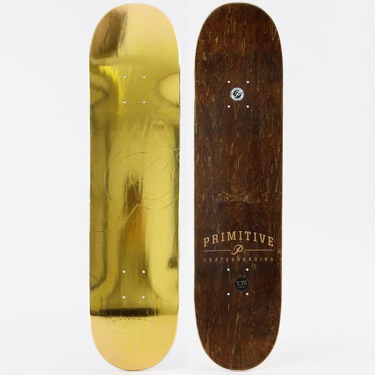 Skateboard från Primitive Skateboards. - Tillverkad av 7-lagers lönnträ.- Färgen på ovansidan kan variera.- Griptape ingår. Mått:Bredd: 7.75