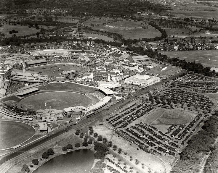 Sydney Showground & Car Park c.1936