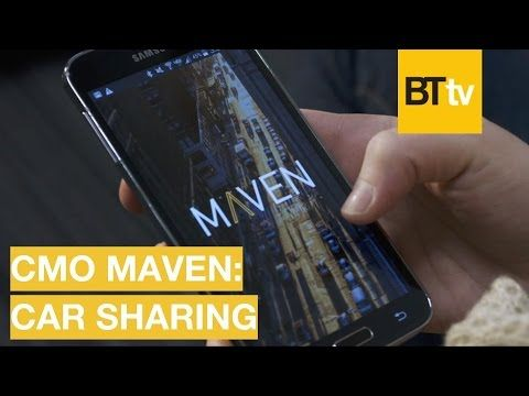 Technology is Changing How We Drive - Maven CMO on Car Sharing | BrandTech TV talks | 5 - YouTube