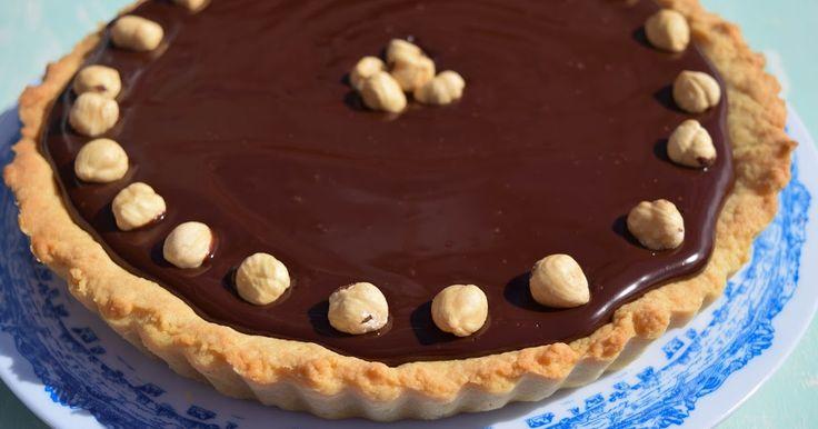 Tarta de Chocolate y Toffee de Avellana. Repostería Tximeleta