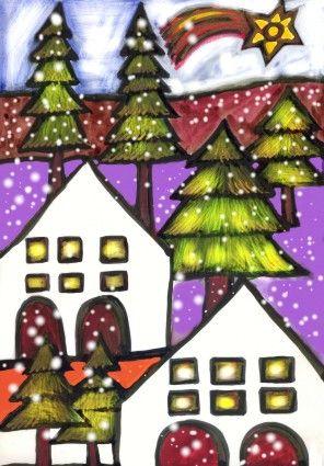 Christmas card  by Kamila Guzal-Pośrednik