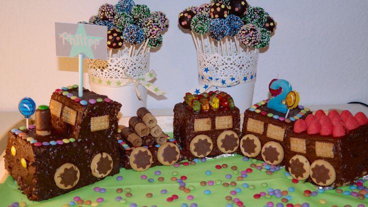 Eisenbahn-Kuchen