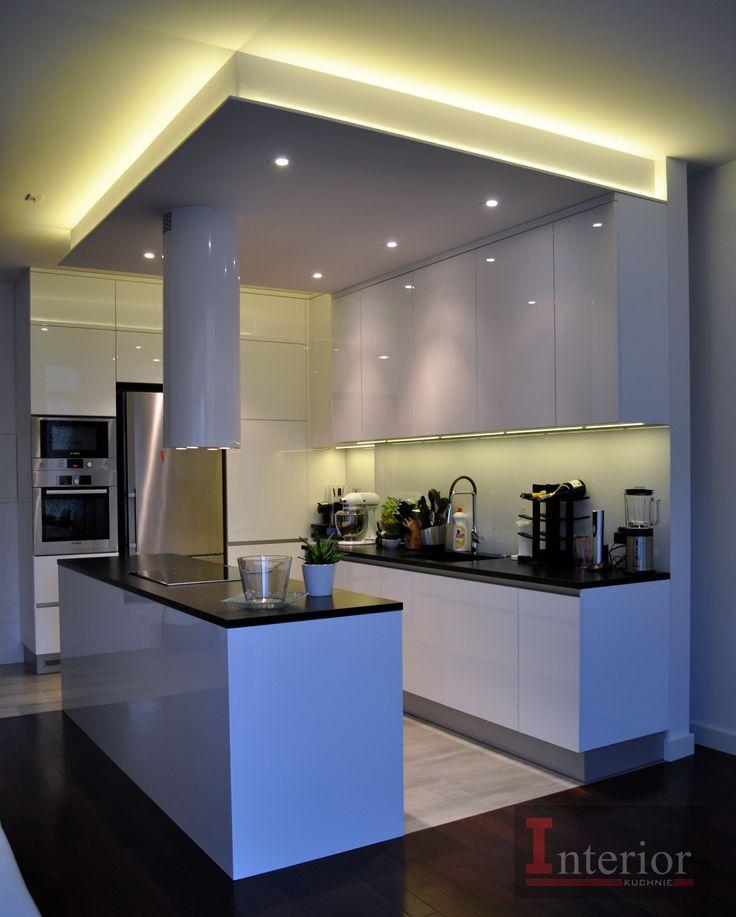 Interior kuchnie  Biały połysk