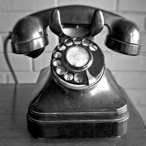 Old Fashion Telephone By Graham Bell