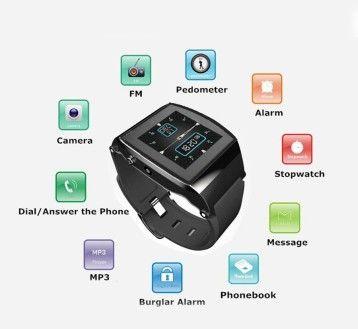 U Watch Upro Smart Watch Phone Bluetooth Watch