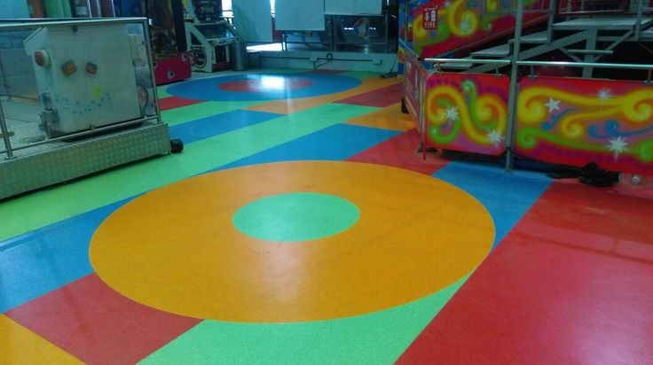 Fun City, Chennai Product used: IQ Granit  Area installed: 13,000sqft  3/6