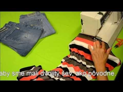 Šití elastických tkanin https://www.youtube.com/watch?v=_8hcYn8heH0