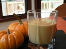 Healthy Pumpkin Smoothie. Yes, please!