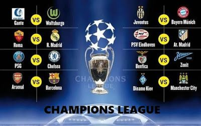 Octavos Champions League 2015-2016. Calendario