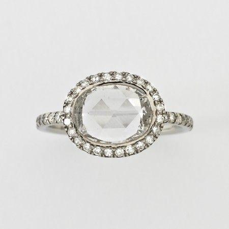 Found a ring in new orleans almost exactly like this and wanted to die! I must get one for myself since its not looking like anyone is gonna get one for me!- William Welstead Oval Rose Cut Diamond Ring