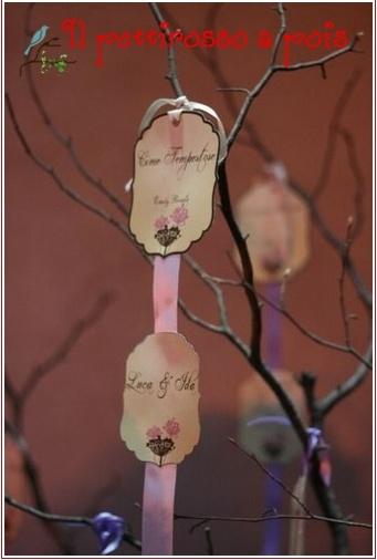 tableau, table plan, wedding, tree