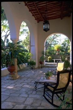 Looks Like A Good Place For Morning Coffee. See More. Hacienda Style Patio