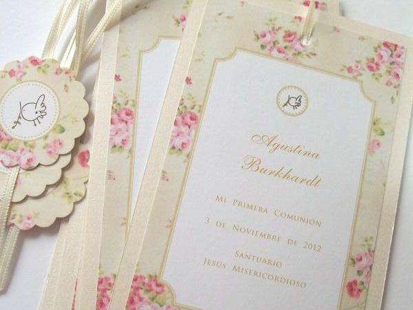 CO004 Estampita Señalador, Bridalshop Argentina