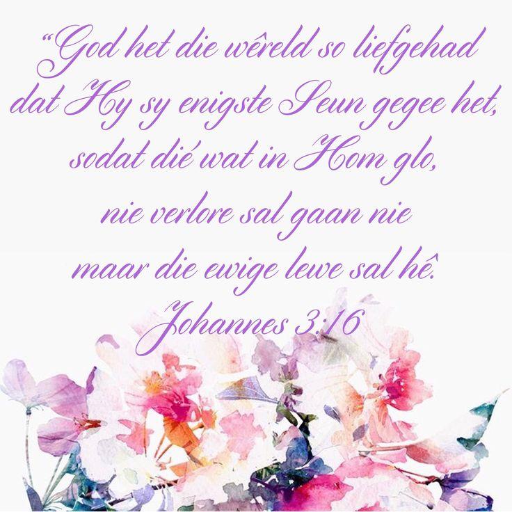 God het die wêreld so lief gehad
