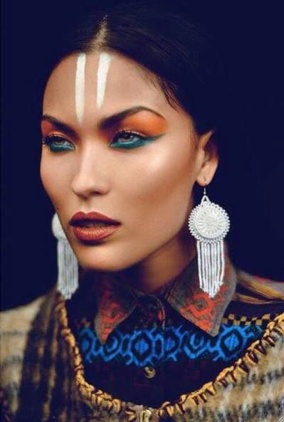 Top 25+ best Tribal makeup ideas on Pinterest | Warrior makeup ...