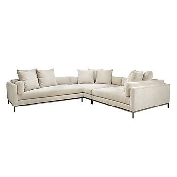 Ventura Sectional | Sectionals | Living Room | Furniture | Z Gallerie