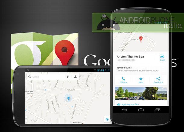 Google Maps si aggiorna alla versione 7: novità anche per l'Italia