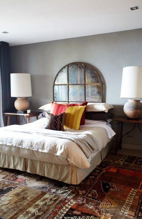 17 mejores ideas sobre espejos antiguos en pinterest espejo envejecido paredes de espejo y - Cabeceros plateados ...