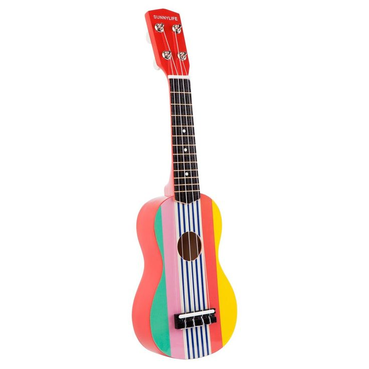 Join the Beach BandMake your own music of the sun with Sunnylife's collection of instruments. Grab your crew, grab this ukulele and hit the beat on the beach. - 50cm ukulele designed for budding musicians- Authentic sound and feel- Not tunable6 x 15 x 50.5 cm