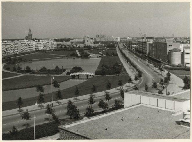 1959, Segbroeklaan gezien vanaf de Goudsbloemlaan. ba81cf6b-f42c-4fa9-9a6a-e4bc3abb59cf.jpg
