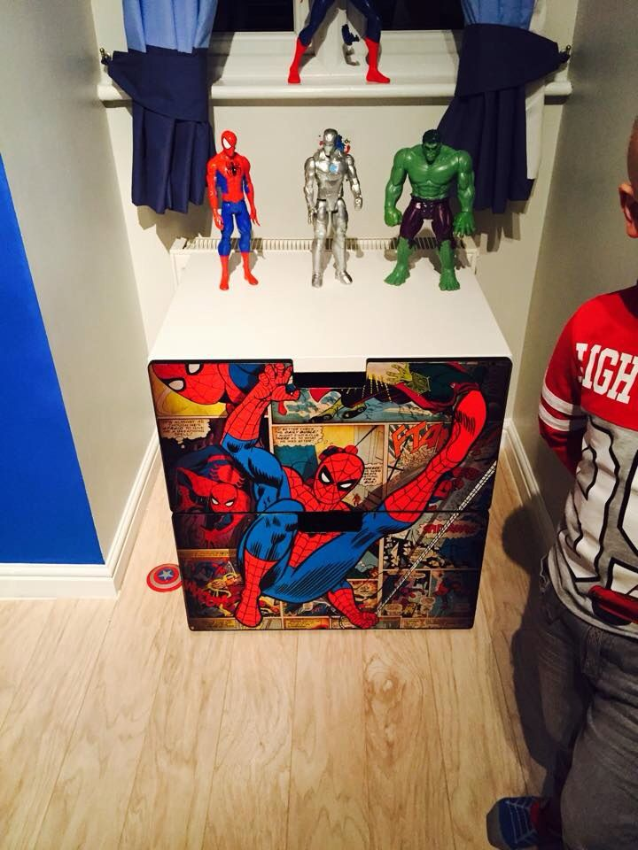 Superhero Marvel Theme Drawers