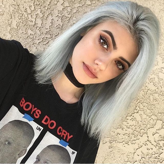 Marvelous 1000 Ideas About Grunge Hairstyles On Pinterest Hair Silver Short Hairstyles For Black Women Fulllsitofus