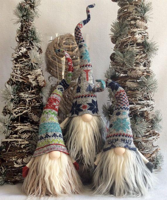 Tomte Nisse Nordic Gnome Santa Christmas decoration