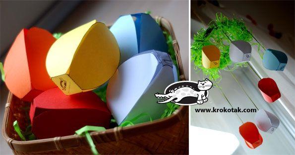 A Dozen Egg-Cellent Paper Crafts for Spring Celebrations | CreativePro.com