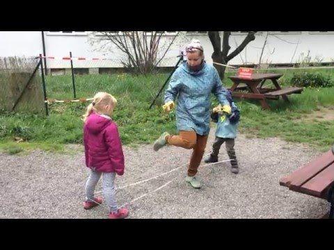 Videonávod na skákání přes gumu (1- 4 úroveň obtížnosti) - YouTube