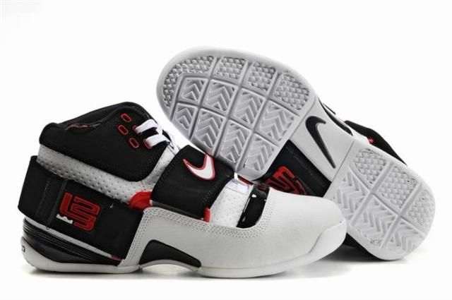 http://www.airfoamposite.com/nike-zoom-lebron-45-black-white-red-p-347.html NIKE ZOOM LEBRON 4.5 BLACK WHITE RED Only $84.56 , Free Shipping!