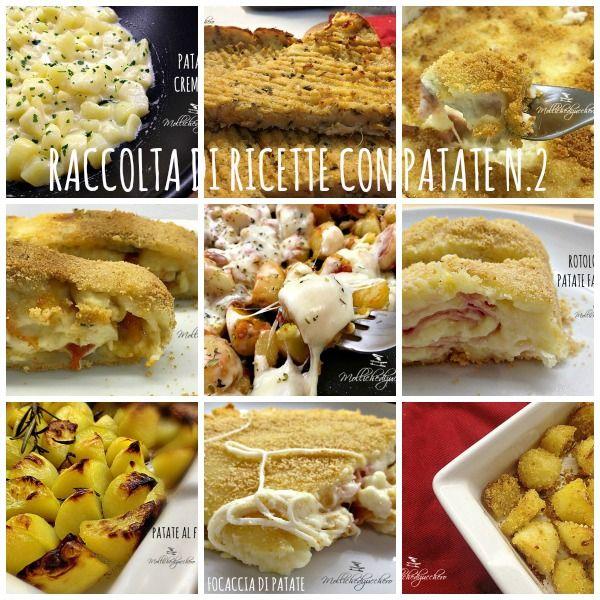 Raccolta di ricette con patate n.2