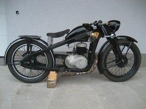 Zündapp DBK 250 1938 250cc 1 cyl ts