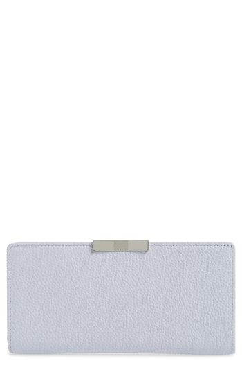 82b28f708e87a6 Ted Baker London Emblyn Leather Matinée Wallet