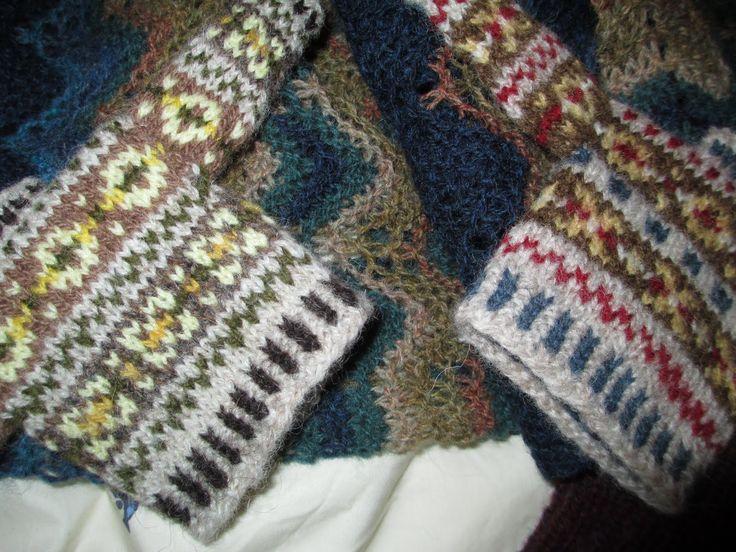 Fair Isle Knitting Kits Canada : Best images about fair isle shetland knitting on