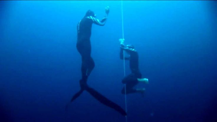 William Trubridge 101m CNF World Record Freedive.