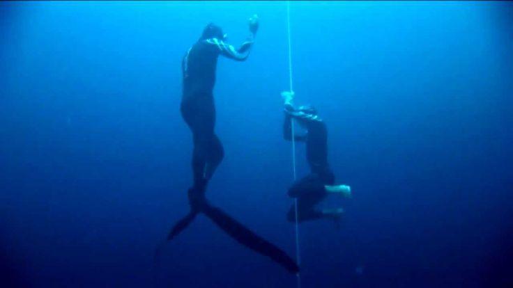 William Trubridge 101m CNF World Record Freedive.