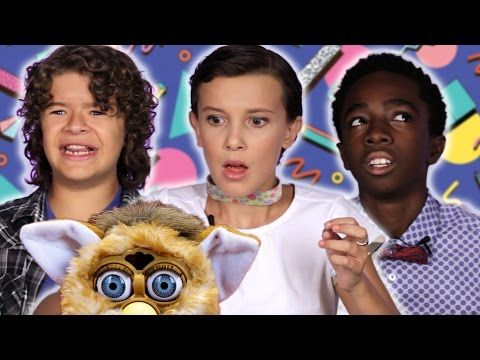 "We Showed The ""Stranger Things"" Kids '80s And '90s Toys And Have Never Felt Older"