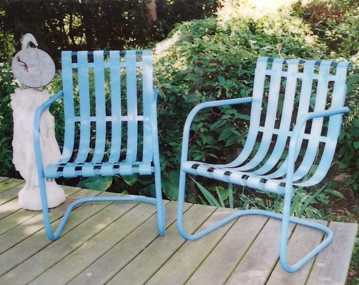 Steel Slat Bouncers Vintage Metal Porch Chairs Pinterest Bouncers And Steel