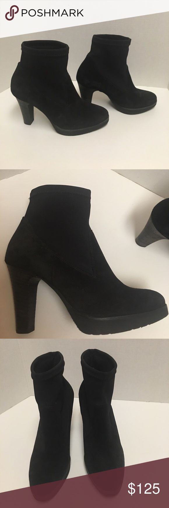 Selling this New Paul green black suede and nylon ankle boot on Poshmark! My username is: b287807. #shopmycloset #poshmark #fashion #shopping #style #forsale #Paul Green #Shoes