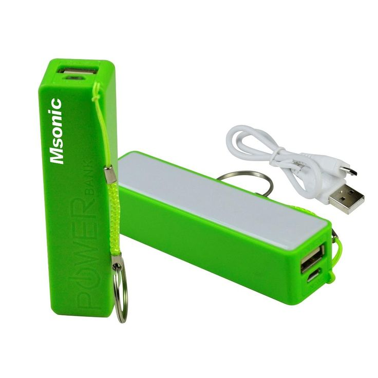 MSONIC POWER BANK 2500MAH LI-ION ZÖLD MY2552E