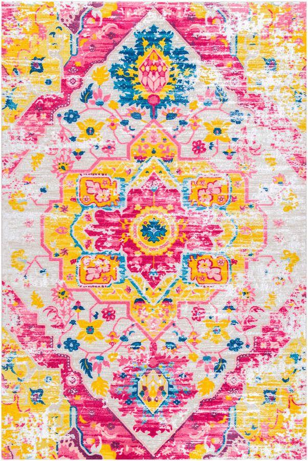 nuLoom Vintage Malik Rug   Vintage area rugs, Synthetic