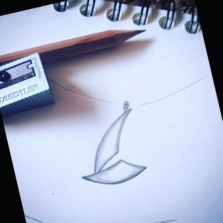 Sketch for a new design for sailing lovers!